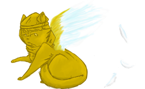 Stephano's An Angel by AskPewDie-The-Cat