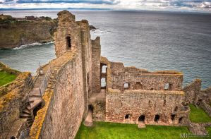 Tantallon castle by Yupa