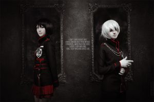 D.Gray-man :: Allen Walker, Lenalee lee by Fleuuuuuuur