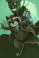 Dr. Rocket Raccoon by PumaDriftCat