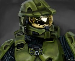 Master Chief by Rozebella