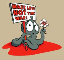 make love not time war by greyfin