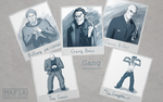 Gangsters Character Design by CGrey