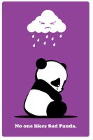 Sad Panda by ra3ndy