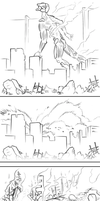 Attack on Evangelion by candide1337
