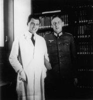Mengele and Friend by MengeleTwin