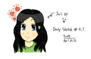 Daily Sketch #4.1 by F1rst-Pers0n