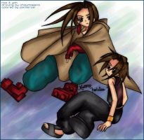 Collab-Hao and Yoh by ChiquitaElena