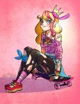 Peach Skater by Flying-Fox