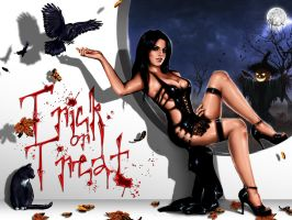 Trick or Treat Wallpaper by ElConsigliere
