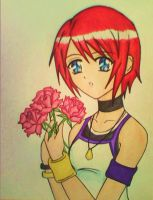 Cute Kairi from KH1 by dagga19 by dagga19