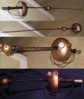 Steam-Punk Epee by gadren