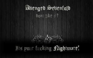 Avenged Sevenfold Wallpaper by ScientiaMucho