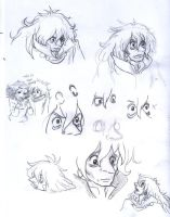 Fujimoto doodles 2 by NejynFrenchCancan