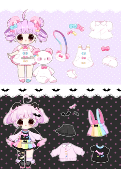[AUCTION*]Puffimi pastel - closed by Hinausa