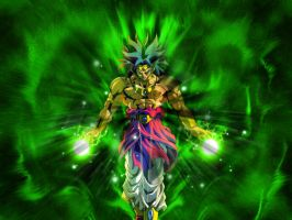 Broly Green by devils-hitman