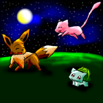 Playing Poke'mon by Chocobofanatic