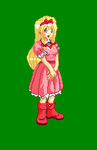 Hi-Res Maria Renard Sprite 2 by Xenomic