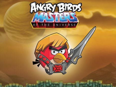 Angry Birds -  Masters of the Universe by oICEMANo