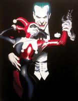 The Joker and Harley Quinn by felluponthieves