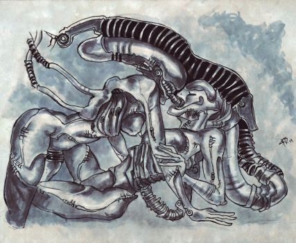 Goodbye H.R. Giger by satablank