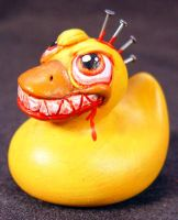 ROT TOT -Duck Punk- Ooak by Undead-Art