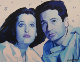Scully n Mulder by Super-Cute