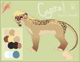crys big cat ref by T-h-E--J-o-K-e-R