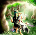 Contest entry 2 - Forest Love Swing by Mari-Kyomo