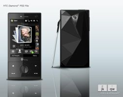 HTC Diamond by Justflikwalk