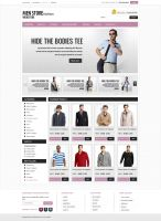 Men store webshop by mughikrish1986