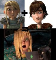 Astrid + Hiccup = Sophie?! by Nintendo-Lover-Kat