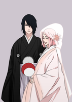 SasuSakuWedding by Alasta-tyan