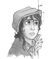 Eponine by littledigits