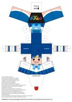 Sailor Mercury Paper Doll by Willianac