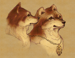 Wolfasaurs by White-Tean