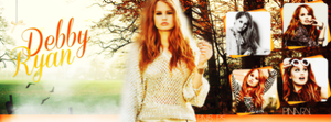 Debby Ryan Facebook Cover. by Pn5Selly