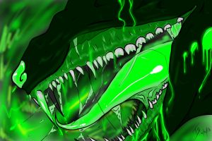 Toxic mouth by TormentorSky