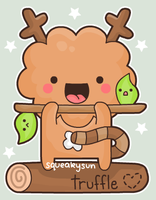 Truffle the tree monster by SqueakyToybox