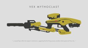 Vex Mythoclast by wabbajacked