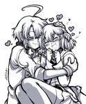 Points commission: William x  Sumire by Rolly-Chan