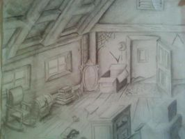 Theres Something In The Attic by HecticHarmony