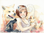 Chino And Pets by Little-Roisin