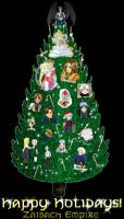 The Zaibach Christmas Tree by Zaibach-Empire