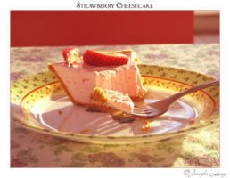 Strawberry Cheesecake by JustLovely