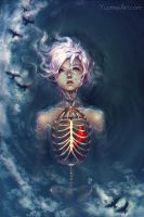 Caged Heart by yuumei