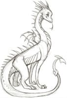 Doylie Dragon by TheSolitarySandpiper