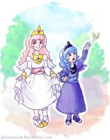 MLP - The Child Princesses by alyssafew