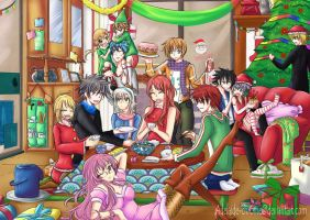 Share-Anime-Art Christmas Contest 2012 by Adelaide-Chrome