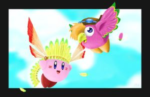 kirby Wing by mesha3